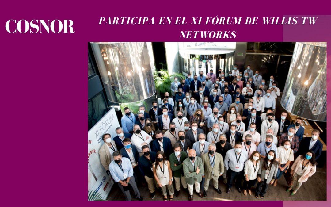 Cosnor participa en el XI Fórum de WILLIS TW NETWORKS